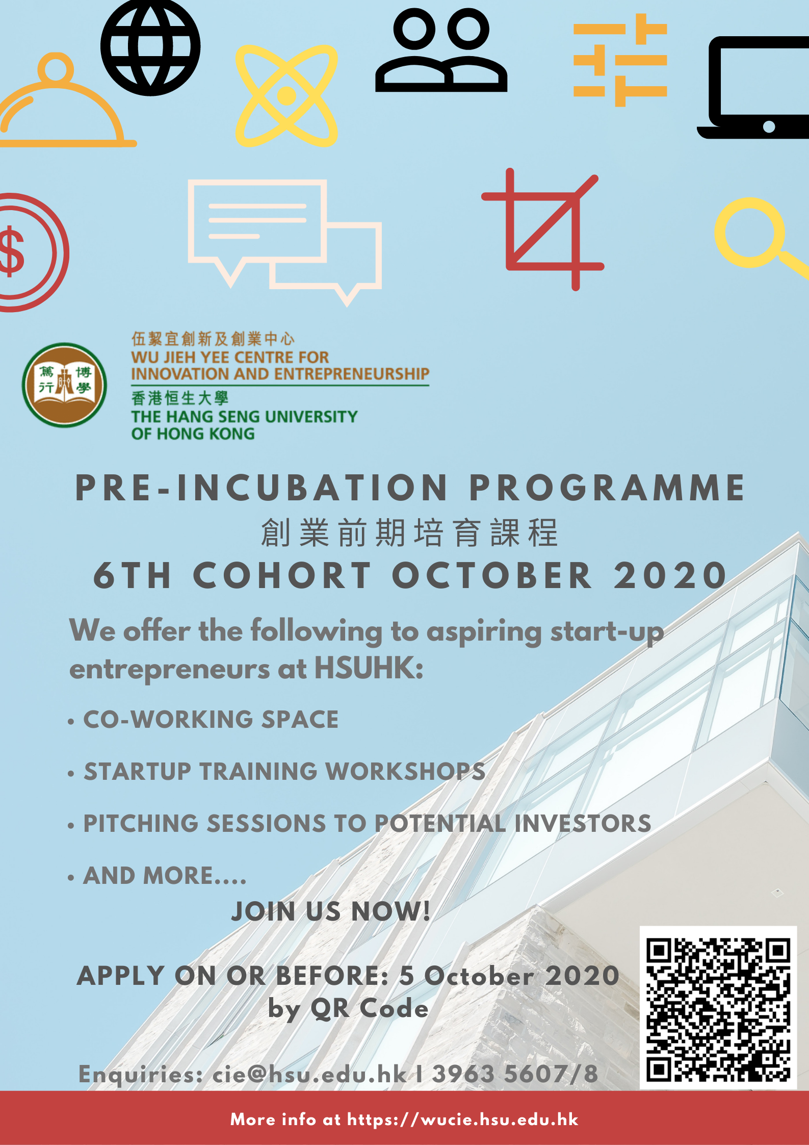 6th cohort Pre-incubation Poster