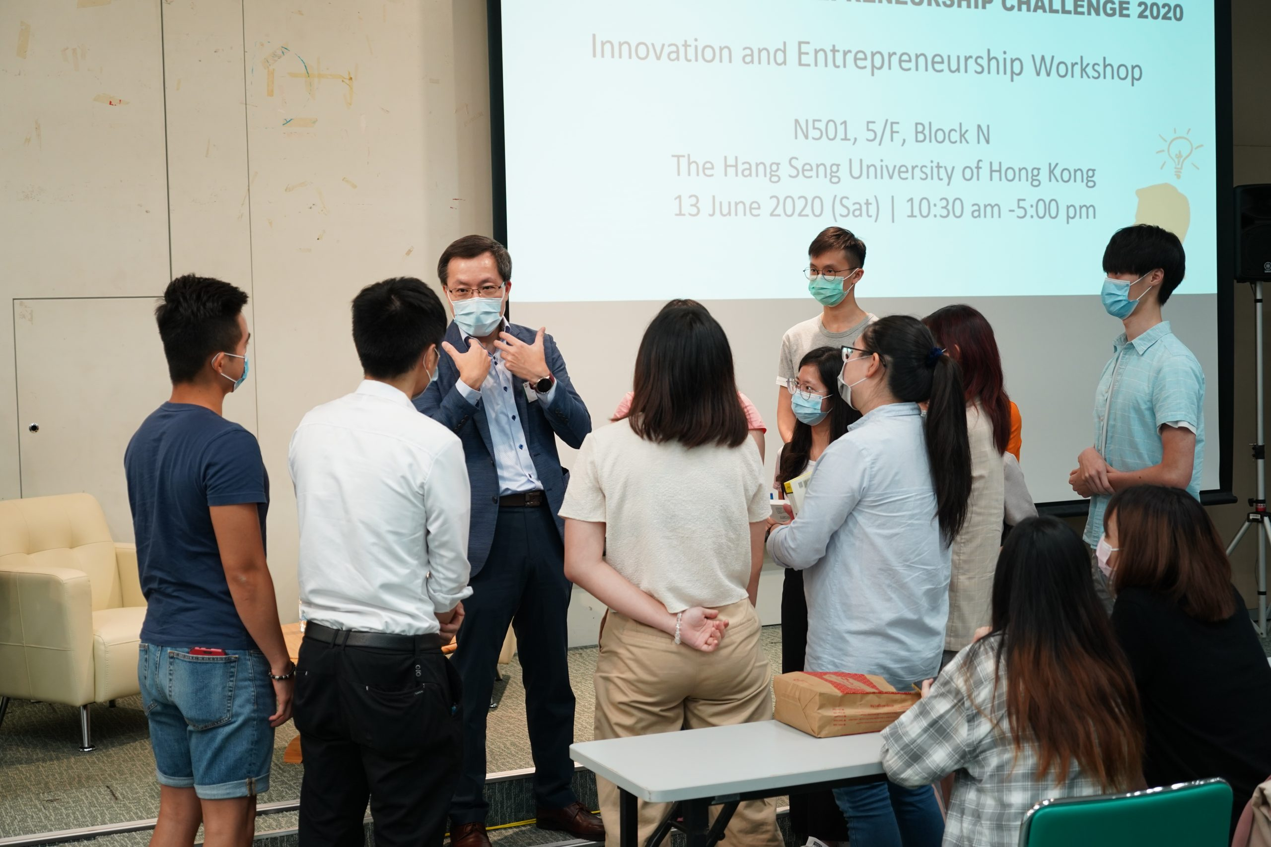 HSUHK x SCMP E-Challenge 2020 - Innovation and Entrepreneurship Certificate Workshop (3)